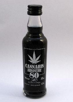 Cannabis Absinthe 80 Shot black