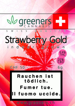 "Greeners ""Strawberry Gold Indoor"""