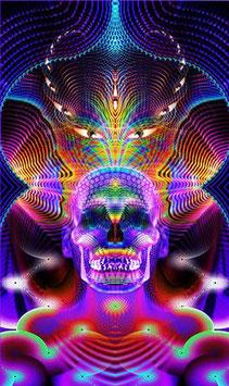 "Aufkleber ""Crystal Skull"""