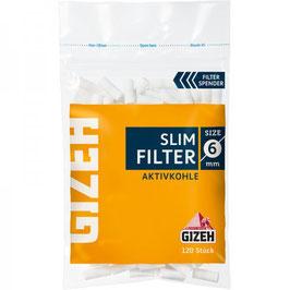 Filter Gizeh Slim Aktivkohle