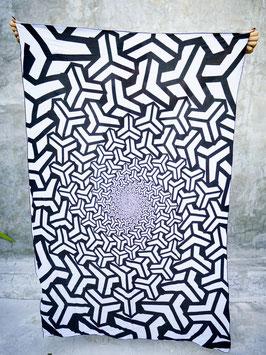 """geometrisches Dekotuch """"Bishamon Kikki"""""""