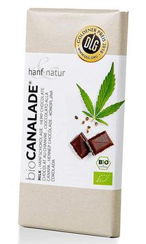 Hanfvollmilchschokolade Canalade