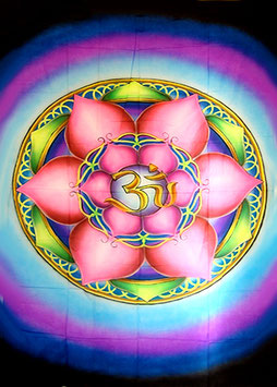 "UV Airbrush ""Lotus Om"""