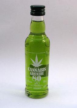 Cannabis Absinthe 80 Shot grün