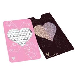 """Grinder Card """"Pinkherz"""""""
