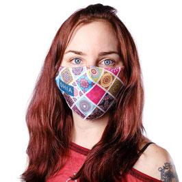 """Gesichtsschutzmaske """"Colors"""""""