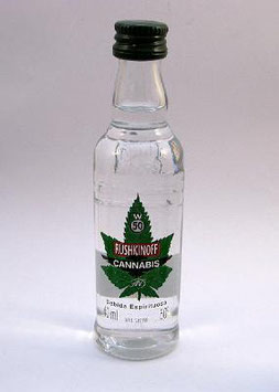 "Rushkinoff ""Cannabis Vodka Shot"""