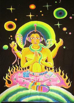 "UV Batik ""Party Shiva"""