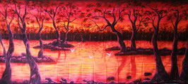 "UV Backdrop ""Landschaft"""