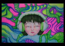 """UV Airbrush """"DJ Manga"""""""