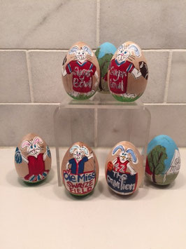 Eggs- Ole Miss & MSU