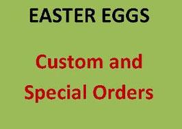 CUSTOM EGG - You choose design* (*shipping March 1)