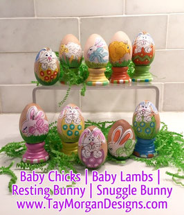 Eggs- Bunny, Lamb & Chick**To be delivered AFTER EASTER- Late fee added**