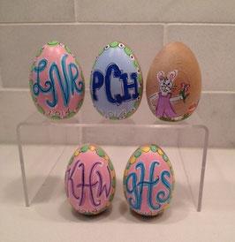 Eggs-Monogrammed*