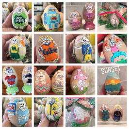 CUSTOM EGG - *To be delivered AFTER EASTER- Late fee added**