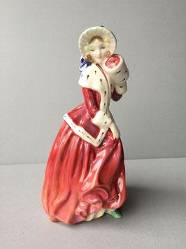 Figurine 'Christmas Morn'  Royal Doulton