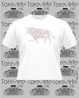 Camiseta Mod. TORO MOSAICO (chico).
