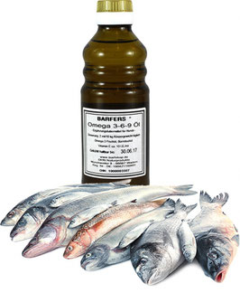DHN BARFERS® Omega 3-6-9 Öl  250ml