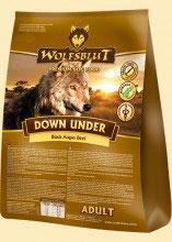 Wolfsblut Down Under ADULT Trockenfutter für Hunde mit Black Angus Beef - 15 kg