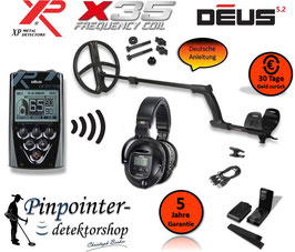 XP DEUS X35 28 RC WS5 (Komplettset)
