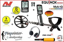 Minelab Equinox 600 (inkl. Pinpointer)