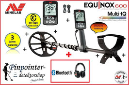 Minelab Equinox 600 (inkl. Funkkopfhörer)