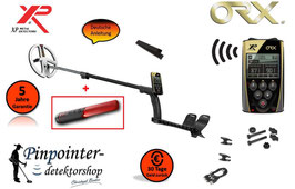XP ORX 22 Metalldetektor (Ohne Kopfhörer) inkl. Pinpointer MI6