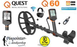 Quest Q60 Metalldetektor