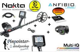 NOKTA ANFIBIO Multi-Frequenz Metalldetektor