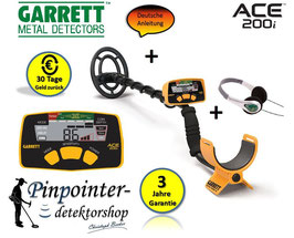Garrett ACE 200i Metalldetektor