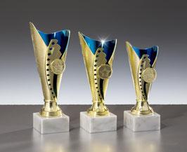 #54540 Ständer Trophäen Gold-Blau