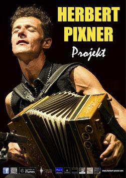 Herbert Pixner | Tourplakat 2017 | Handsigniert