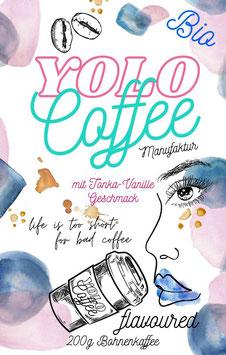 NEU: YOLO COFFEE flavoured TONKA:VANILLE