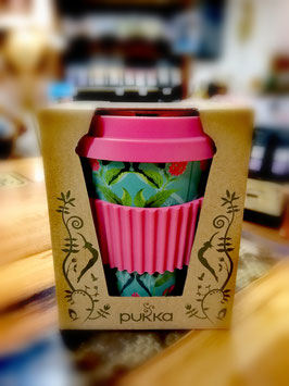 Pukka Coffee to Go Becher pink