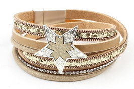 "Armband Multi Row ""Star"""