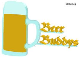 Beer Buddys Schild - Mehrere Motive