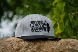 Never Play Alone Snapback Cap