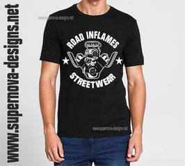 Roadinflames T-shirt Supercharger