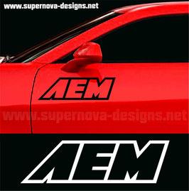 AEM Aufkleber
