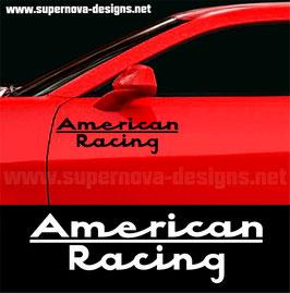 American Racing Aufkleber