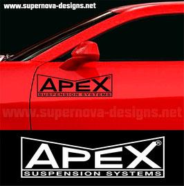 Apex Racing Aufkleber