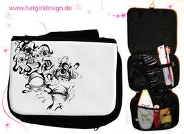 Eyes- hatgirl.de Badtasche, Schminktasche, Waschtasche, Reisetasche,  Kulturtasche
