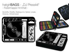 """Federmappe """"DJ Presskit"""" / Mischpult"""