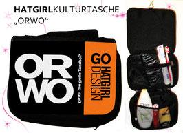 ORWORM - hatgirl.de Badtasche, Schminktasche, Waschtasche, Reisetasche,  Kulturtasche