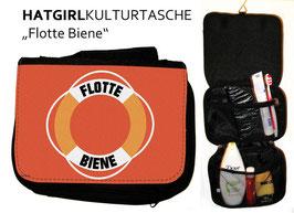 Flotte Biene - hatgirl.de Badtasche, Schminktasche, Waschtasche, Reisetasche,  Kulturtasche