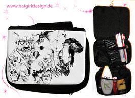 Symbiose- hatgirl.de Badtasche, Schminktasche, Waschtasche, Reisetasche,  Kulturtasche