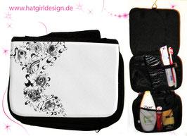 Animal Eyes- hatgirl.de Badtasche, Schminktasche, Waschtasche, Reisetasche,  Kulturtasche