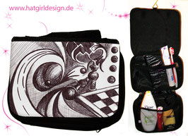 Chess Dimension - hatgirl.de Badtasche, Schminktasche, Waschtasche, Reisetasche,  Kulturtasche