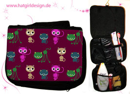 Skandinavian Cats - hatgirl.de Badtasche, Schminktasche, Waschtasche, Reisetasche,  Kulturtasche