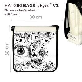 """""""Eyes-V1"""" Planentasche von hatgirlBAGS in verschiedenen Größen"""